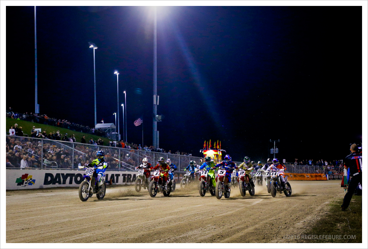 Daytona Pro Flat Track, Daytona Intl Speedway Daytona Beach Florida March 11, 2016